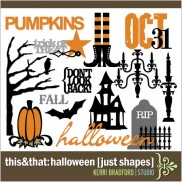 This+That: Halloween [Just Shapes]