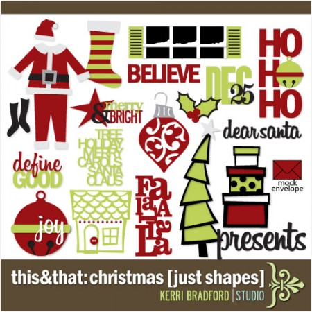 This+That: Christmas [Just Shapes]