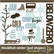 This+That: Winter [Just Shapes]