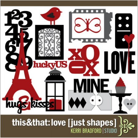 This+That: Love [Just Shapes]