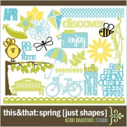 This+That: Spring [Just Shapes]