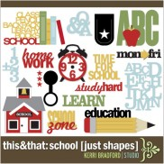 This+That: School [Just Shapes]