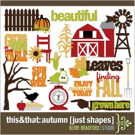 This+That: Autumn [Just Shapes]