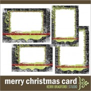 &#8216;Merry Christmas&#8217; Card
