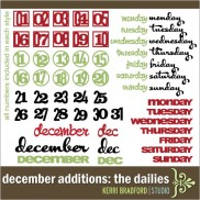December Additions: The Dailies