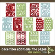 December Additions: The Pages