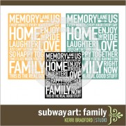 Subway Art: Family