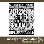 Subway Art: Graduation