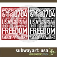 Subway Art: USA