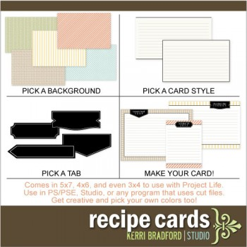 Recipe Cards