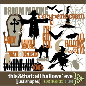 This+That: All Hallows' Eve [Just Shapes]