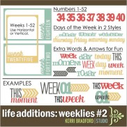 Life Additions: Weeklies #2