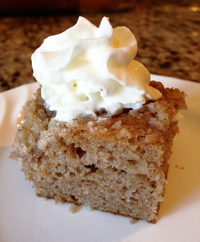 Apple Spice Cake Frosting Recipe