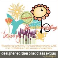class-extras-designer-edition-one