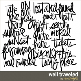 well-traveled