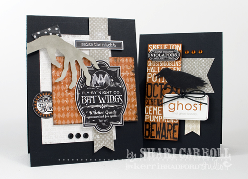 shari carroll halloweek cards