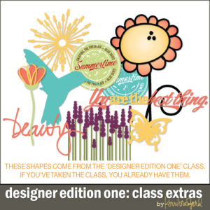 LIMITED TIME ONLY: Designer Edition One Class Extras-0