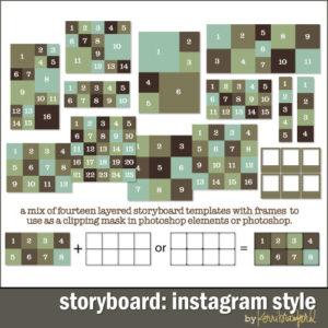 Storyboard: Instagram Style-0