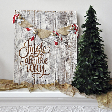 Jingle All The Way Christmas Decoration Vinyl Wall by ... |Pinterest Jingle All The Way