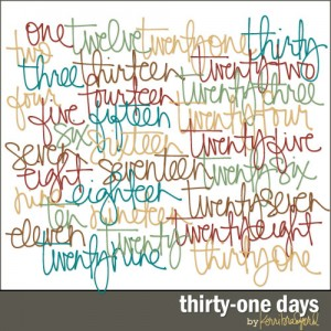 thirty-one-days