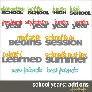 schoolyears-addons