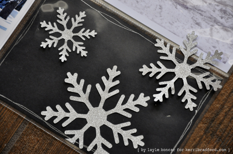Layle Koncar Week 24 - snowflakes