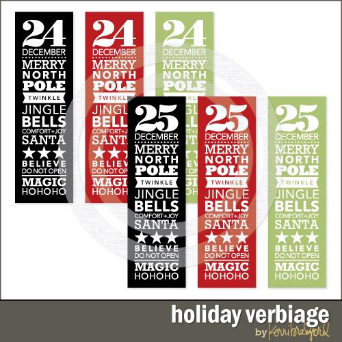 holiday-verbiage