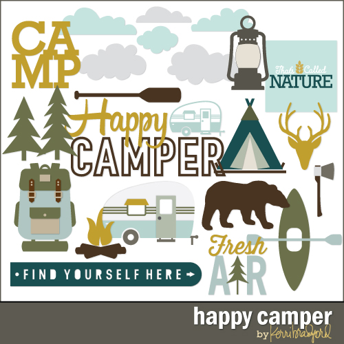 Happy Camper Kerri Bradford Studio