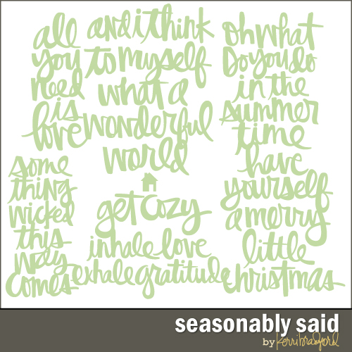 seasonably-said