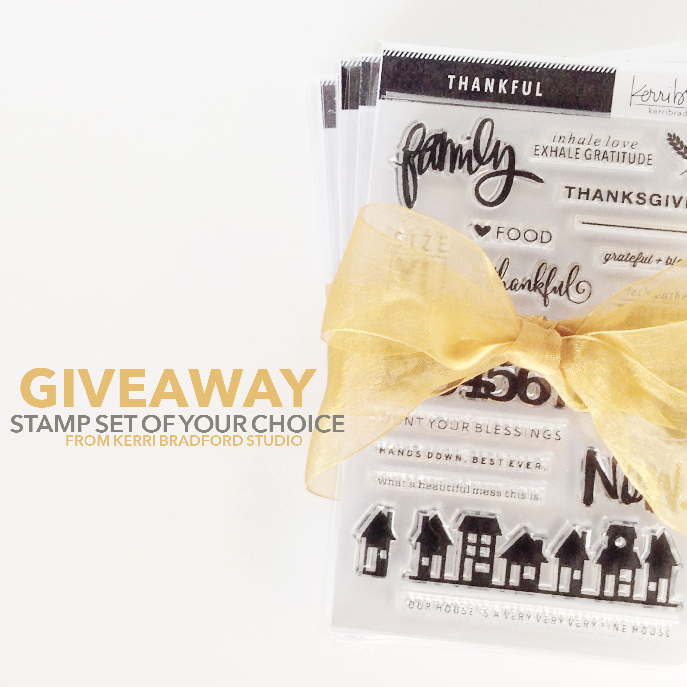giveaway stamp fall