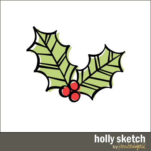 holly-sketch