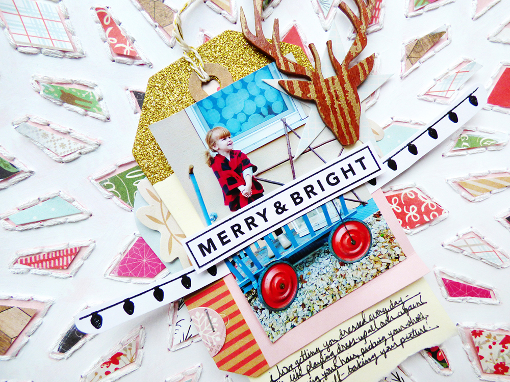 Merry & Bright Detail 3 by Paige Evans