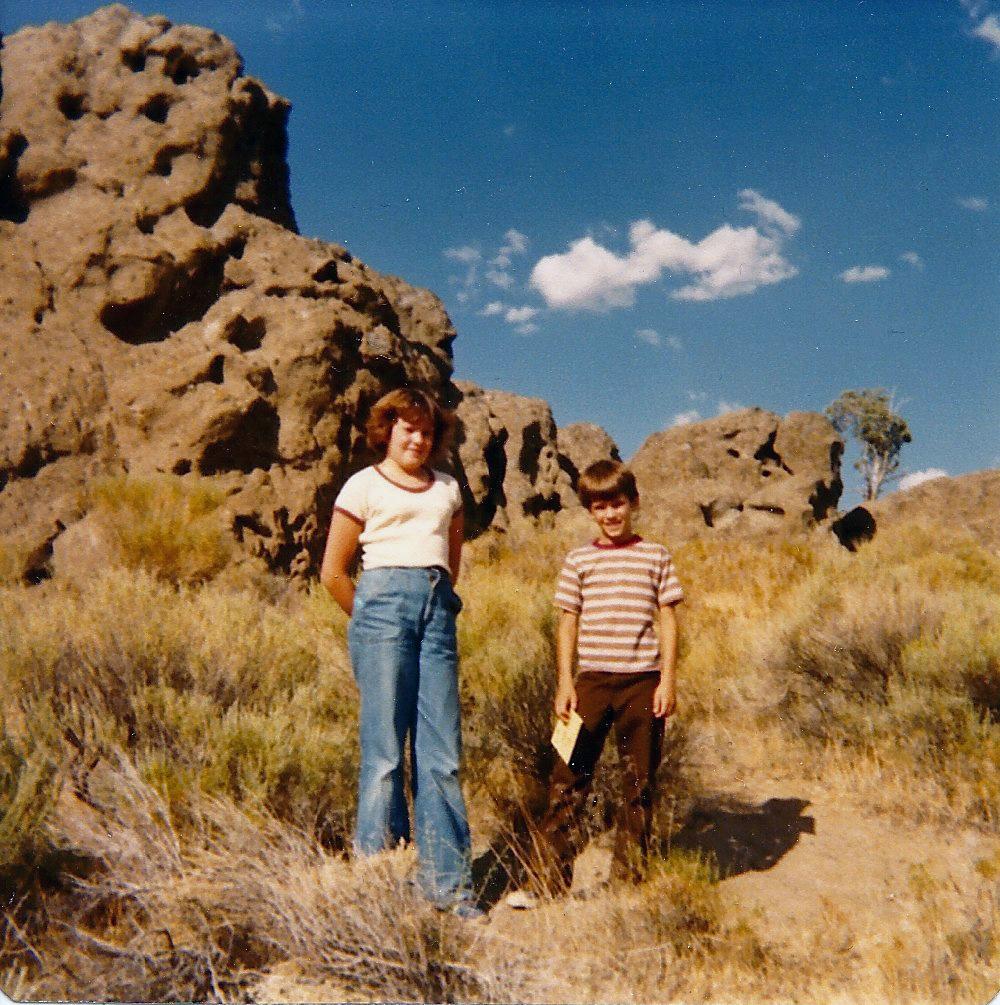 me and jon st george 1979