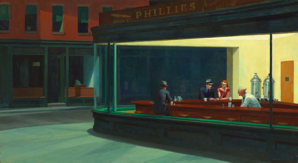 chicago-Nighthawks-by-Edward-Hopper