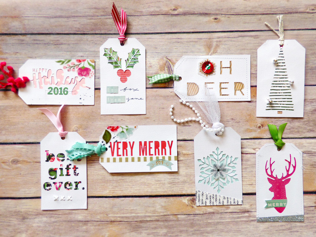 Christmas Tags 4 by Paige Evans