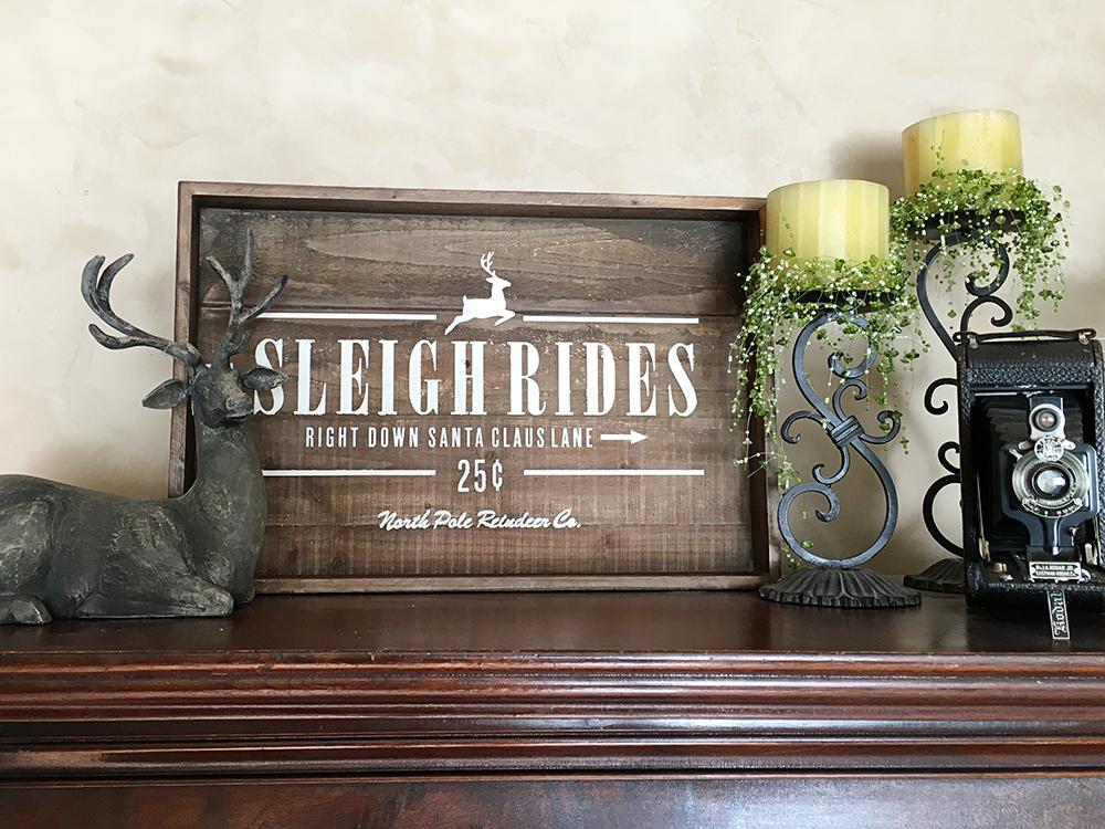 sign sleigh ride web
