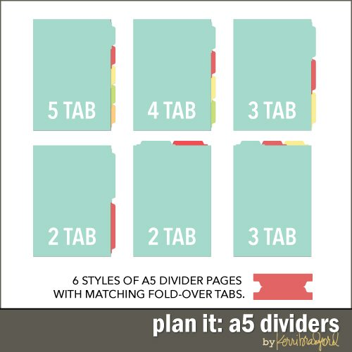 Planner Divider Template Boatjeremyeatonco - 5 tab divider template