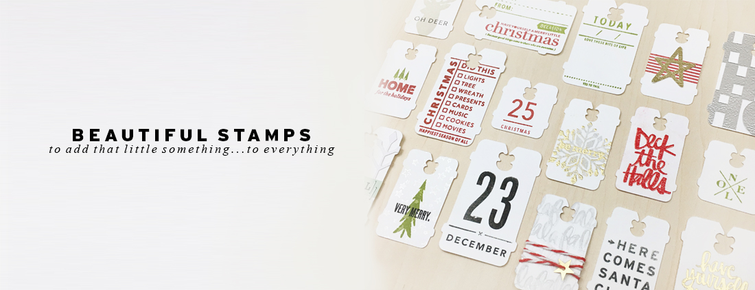 slider stamps banner holiday